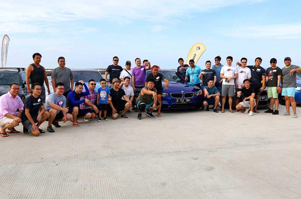 BMW MOCI Uji Ketangkasan Berkendara Jetski