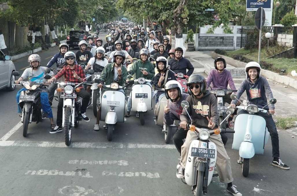 Seru-Seruan Bikers Jogja di Buko Cakil