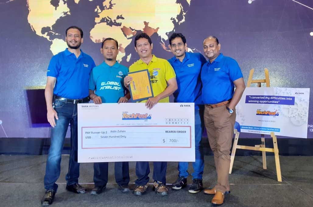 Mekanik TMDI Boyong Juara 3 di Kompetisi Teknisi Tata Motors