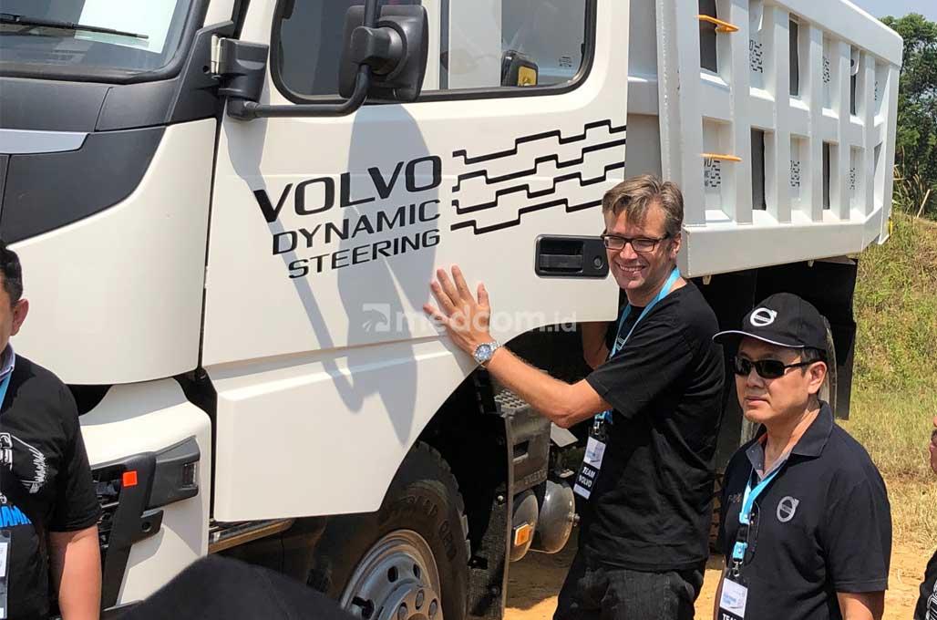 Jajal Teknologi Anyar di Sistem Kemudi Truk Volvo