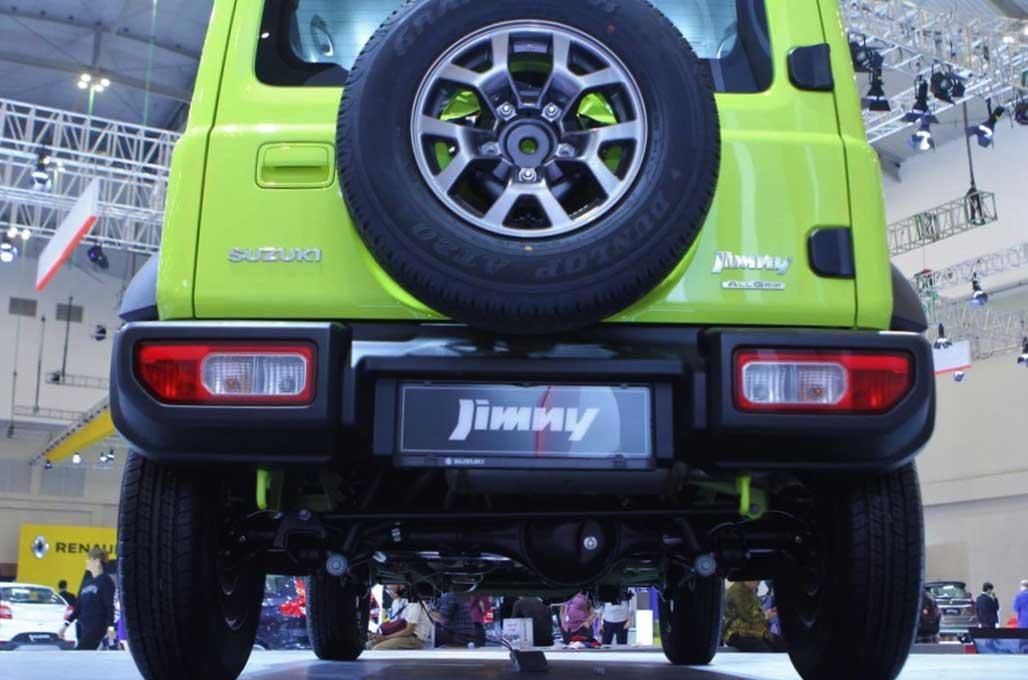 Profil Jimny Generasi Baru, Fungsional untuk Profesional