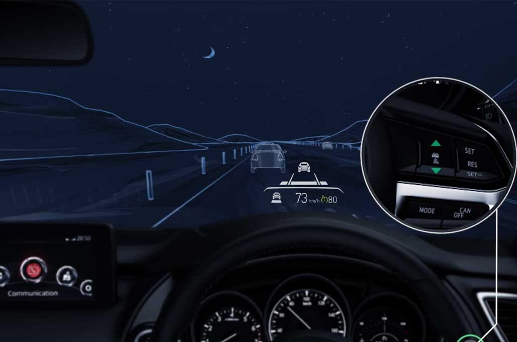 Jajal Mazda Radar Cruise Control, Fitur Asik Anti Capek