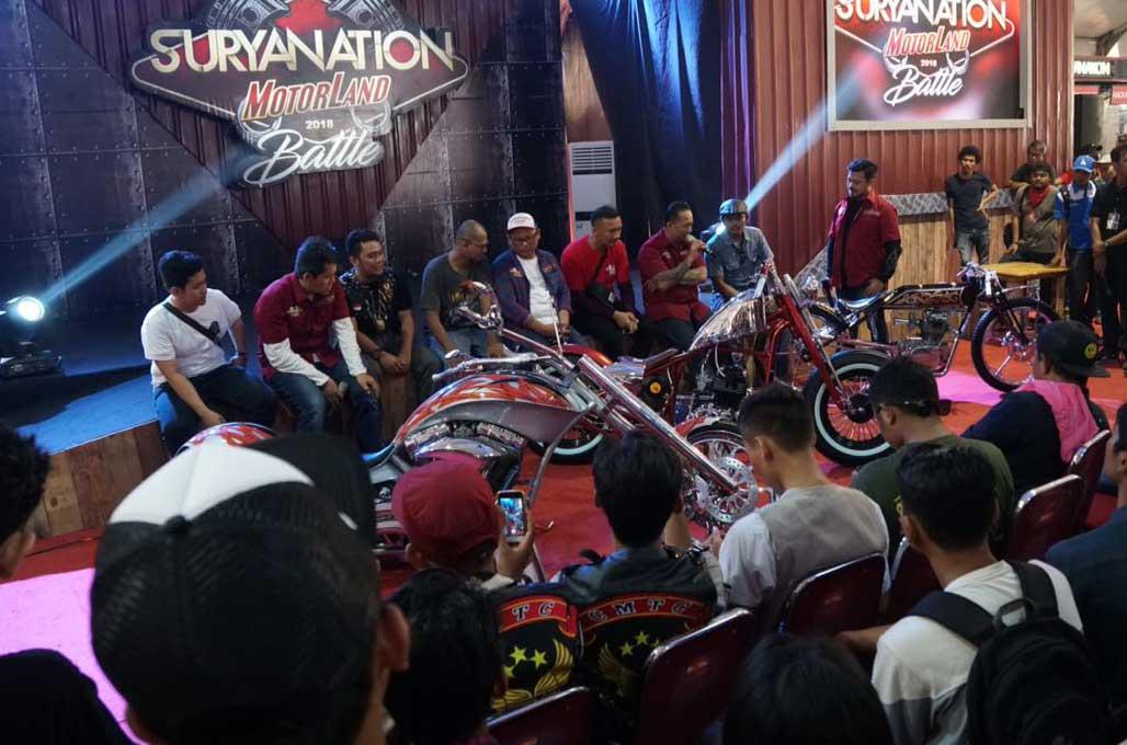 Custom Bike Contest Suryanation, Siap Menginspirasi Medan