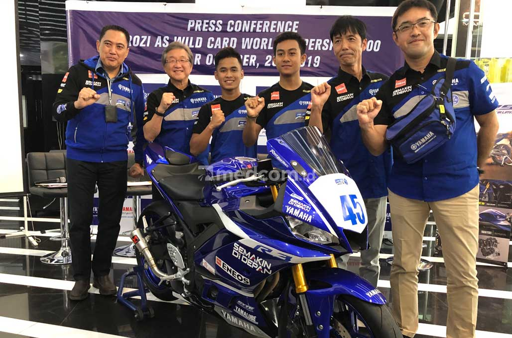 Faeroz Siap Debut di World Supersport 300 Qatar