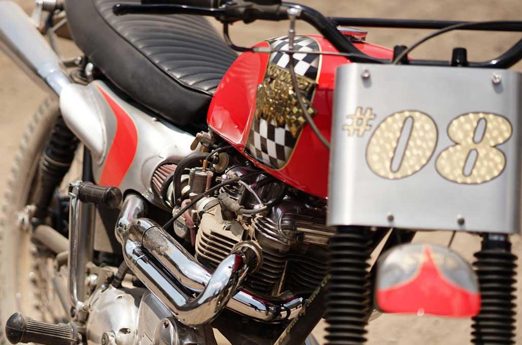 Kenalan dengan Ontoseno, Motor Kustom Berbanderol Rp60 Ribu