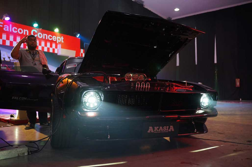 Modifikasi Retro Mencuat lagi di BlackAuto Battle
