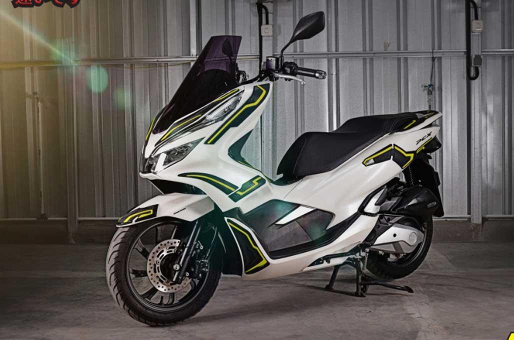 Bodi Honda PCX 150 Rentan Tergores? Pakai Pelindung Bodi
