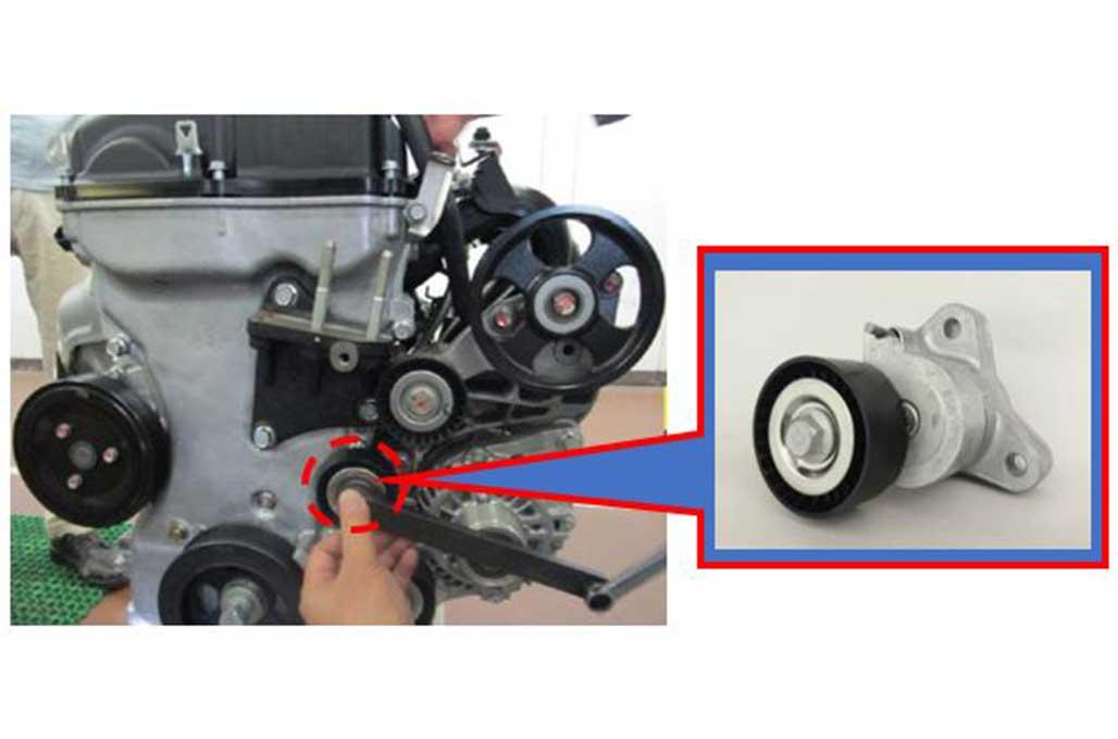 Desain Engine Auto Tensioner Bermasalah, Mitsubishi Recall Lancer