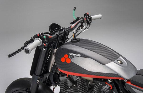 BOTT XR1R, Motor Konsep Khusus untuk Balapan