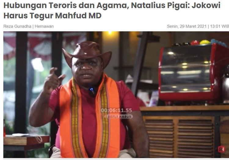 [Cek Fakta] Jokowi Copot Menkopolhukam Mahfud MD? Ini Faktanya