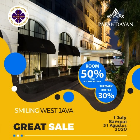 Partisipasi The Papandayan Hotel dalam Program Smiling West Java dan Great Sale 2020