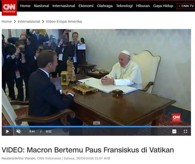 [Cek Fakta] Bukti Paus Fransiskus Mengalah setelah Diprotes Erdogan? Ini Faktanya