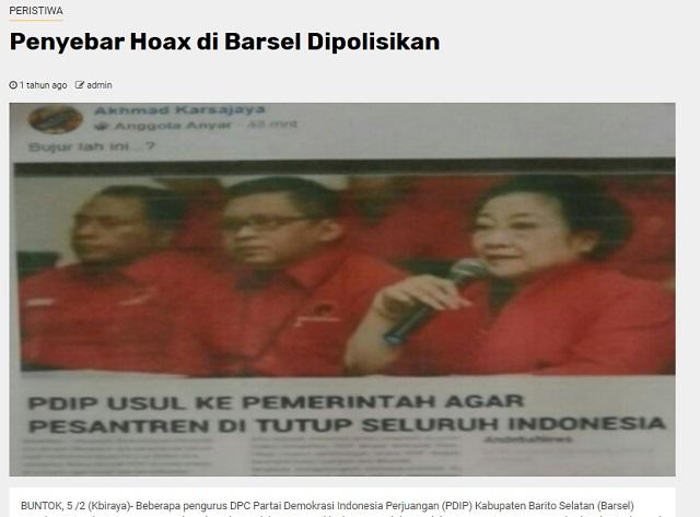 [Cek Fakta] PDIP Usul Semua Pesantren di Indonesia Ditutup? Ini Faktanya