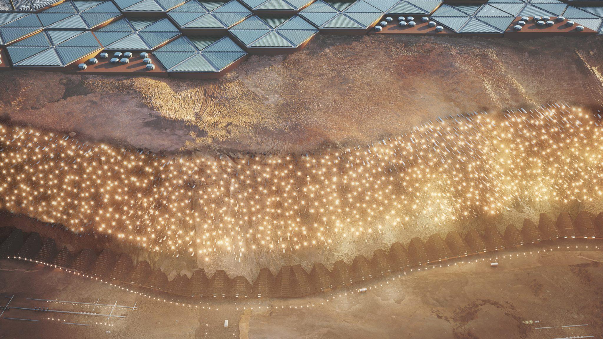 Nüwa, Pemukiman Pertama di Mars yang Bakal Dibangun 2054