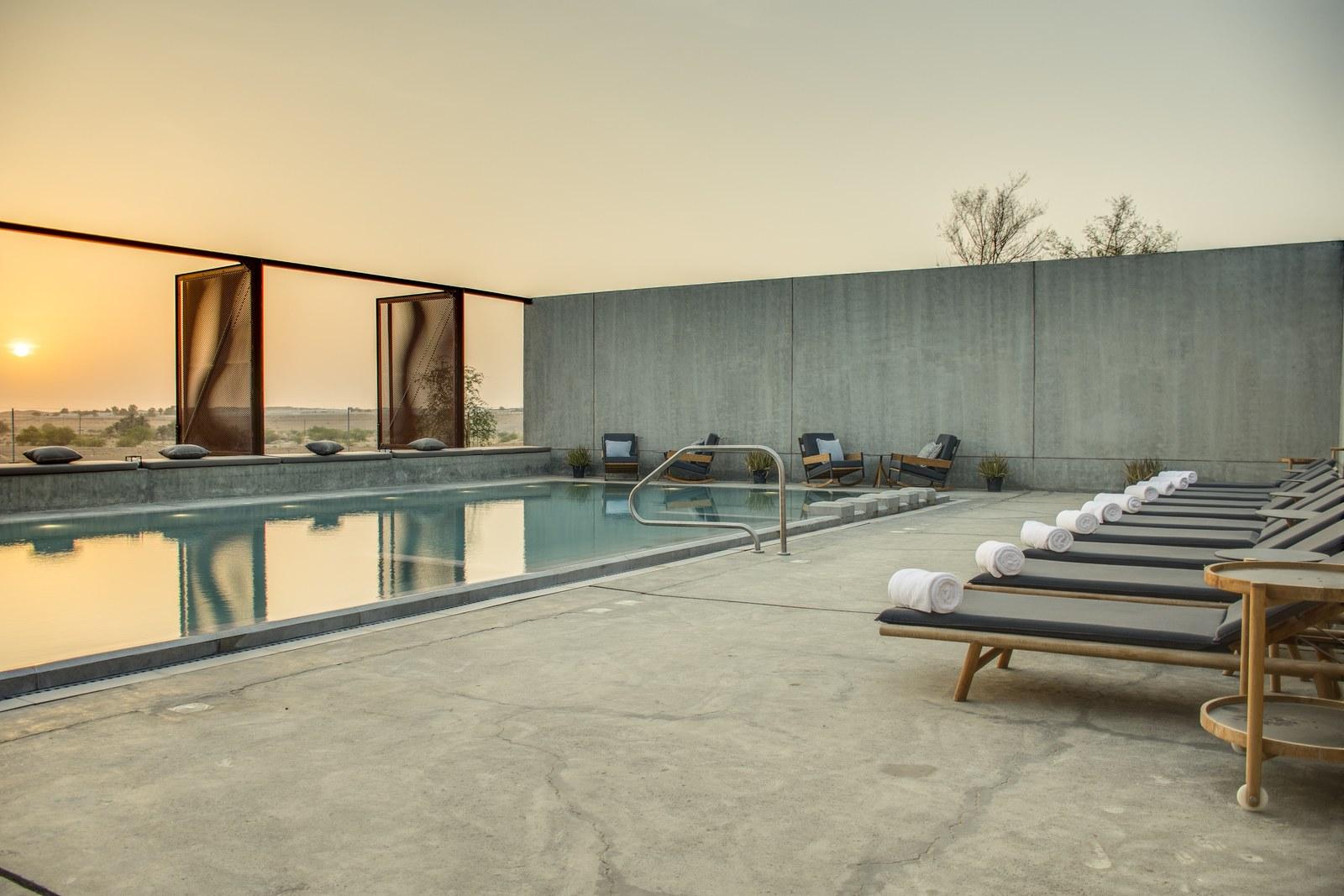 5 Hotel dengan Desain Menakjubkan di Padang Pasir