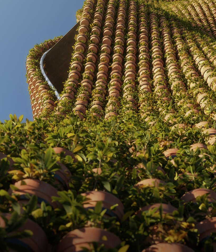 People Tower, Menara dengan 11.520 Pot Tanaman