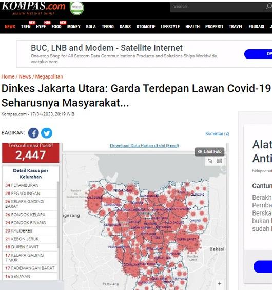 [Cek Fakta] Semua Wilayah di Jakarta Masuk Zona Merah? Cek Faktanya