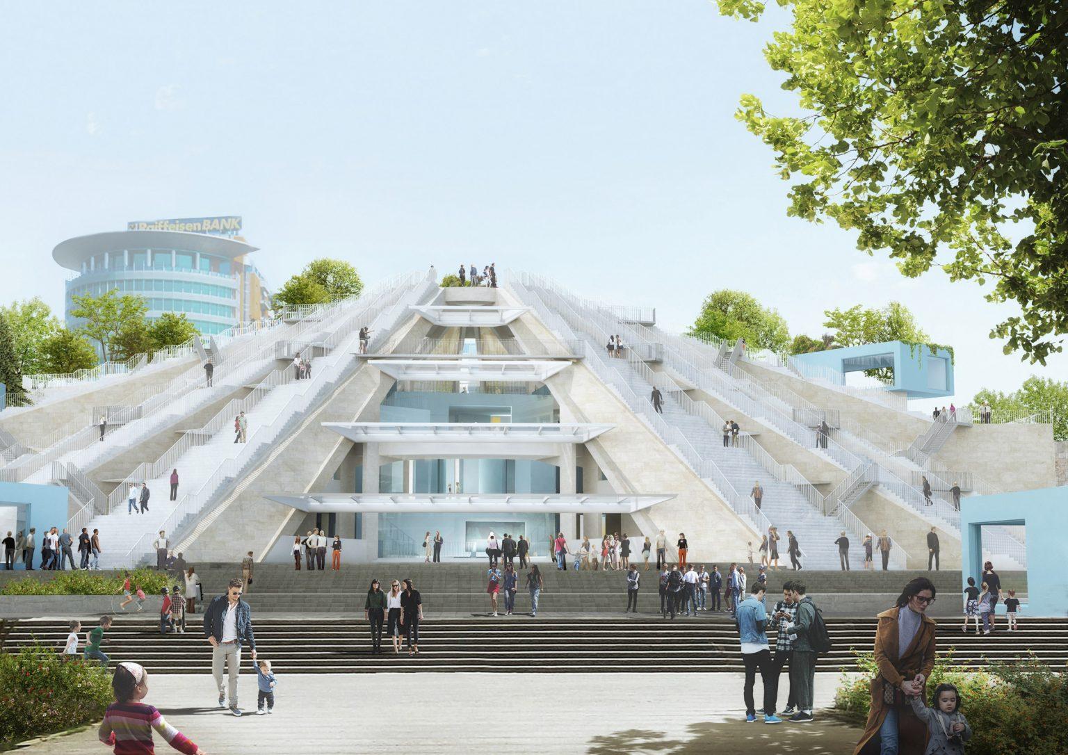 Albania Bakal Bangun Piramida di Bekas Bangunan Bersejarah