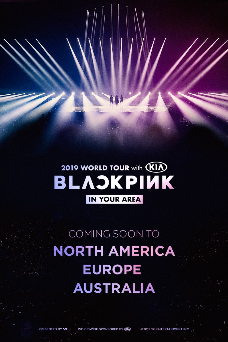 Setelah Asia, Blackpink akan Tur Konser Tiga Benua