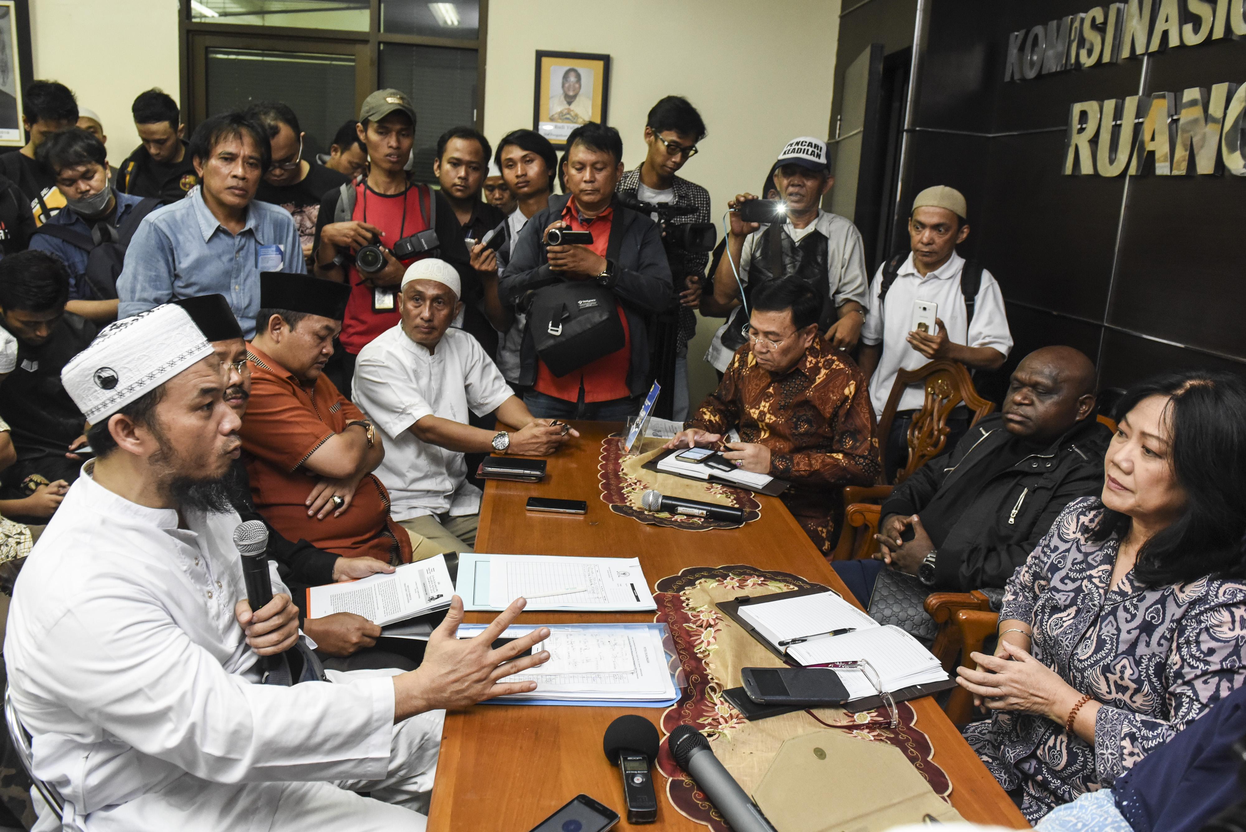 HTI dan Presidium 212 Berharap Damai dengan Pemerintah