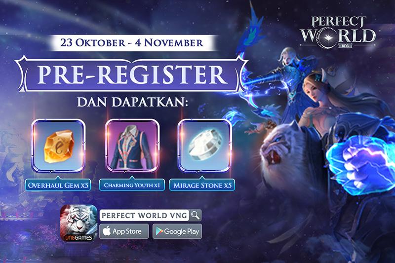 5 November, Indonesia Kedatangan Perfect World Mobile VNG