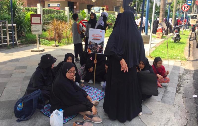 Protes Kondisi Uighur, Kedubes Tiongkok Didemo