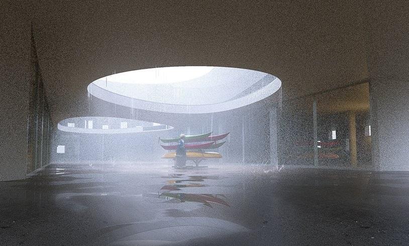 Desain Pusat Maritim di Denmark Berbentuk Bulat