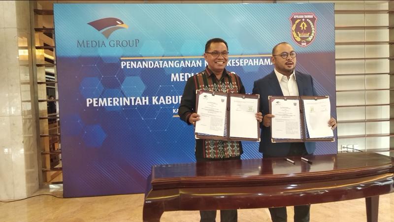 Pemkab Kepulauan Tanimbar Gandeng Media Group Gali Potensi Daerah