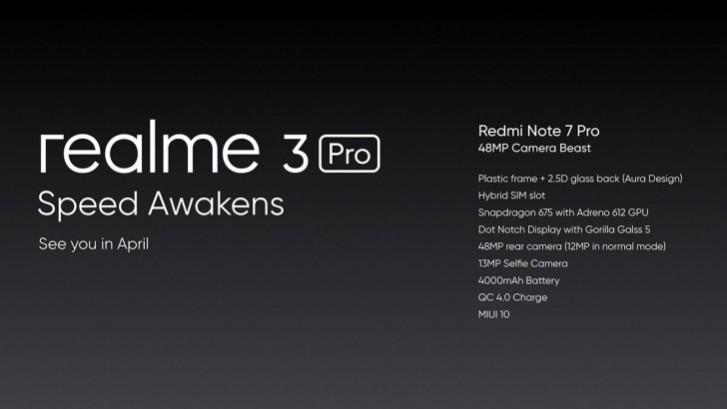 Realme 3 Pro Jadi Pesaing Redmi Note 7 Pro