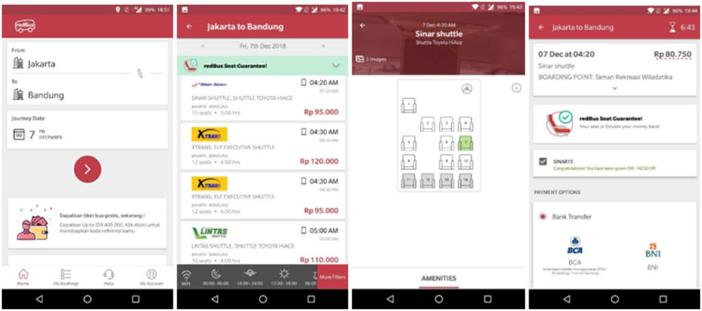 Jelang Musim Liburan, Manfaatkan Aplikasi untuk Beli Tiket Bus