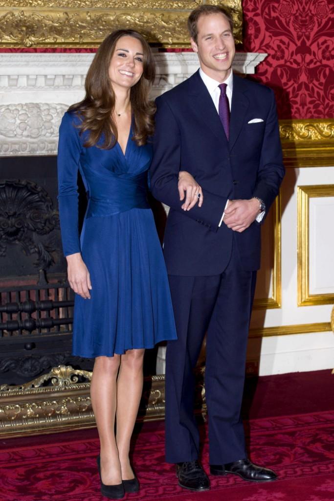Gaun Kate Middleton Saat Bertunangan akan Diproduksi Kembali