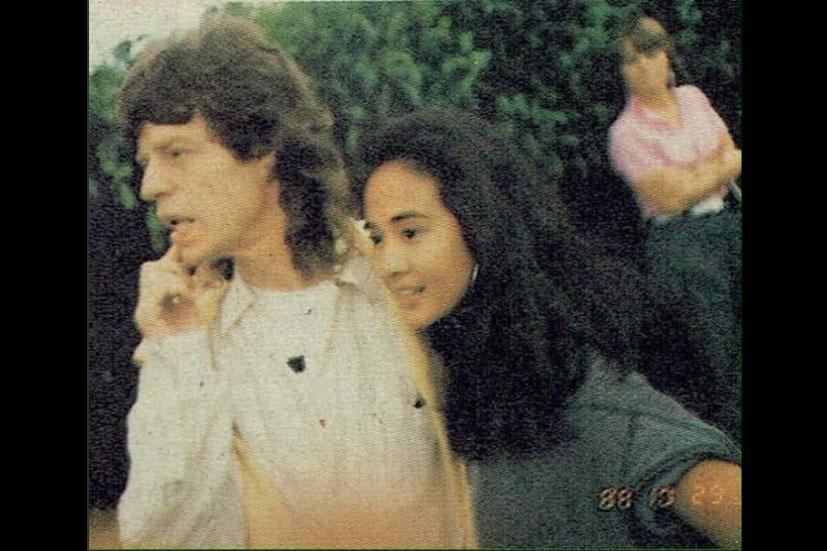 Cerita Kebersamaan Ria Irawan dan Mick Jagger