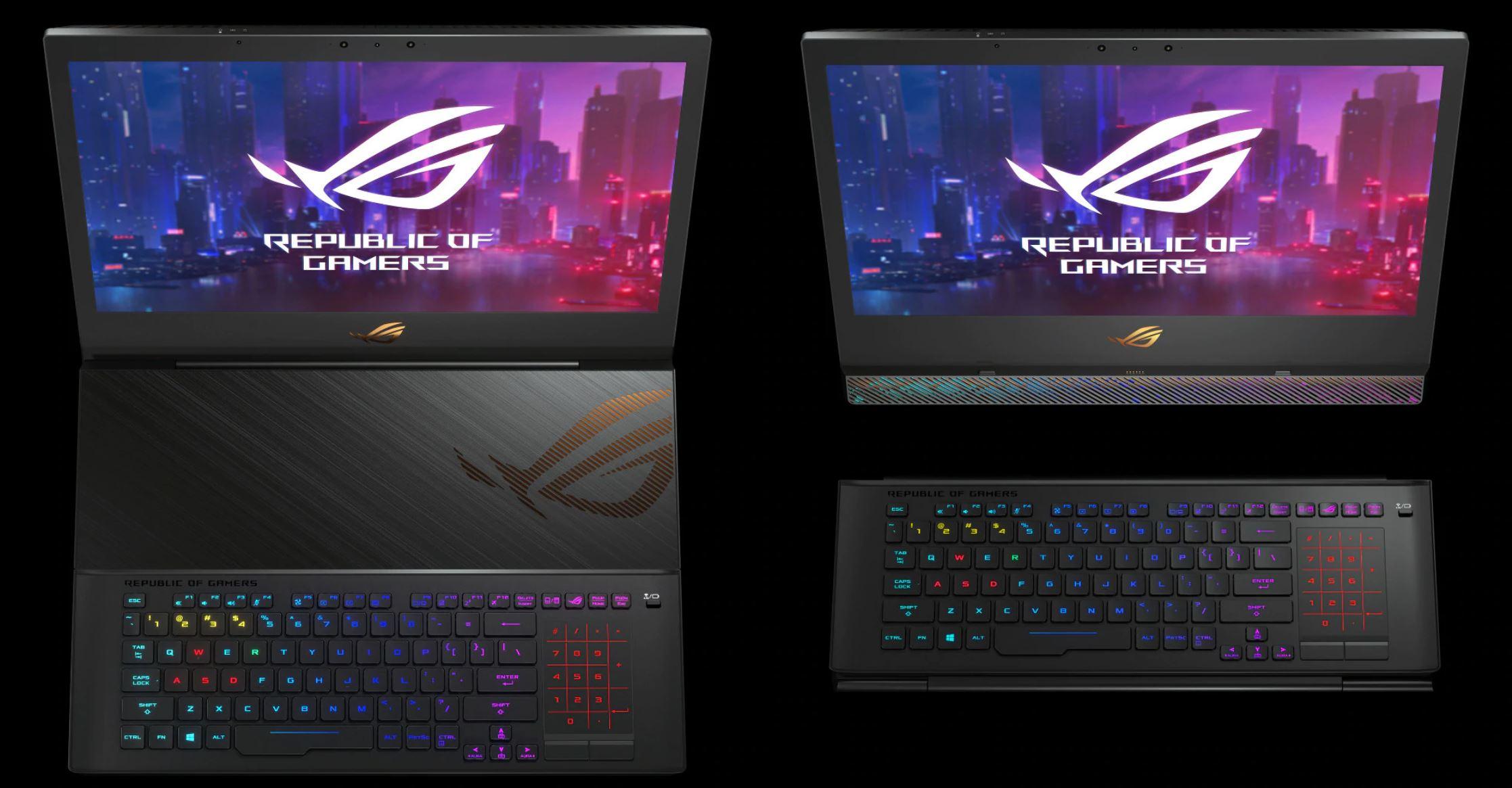 ASUS ROG Mothership, Laptop Gaming Bisa Jadi PC