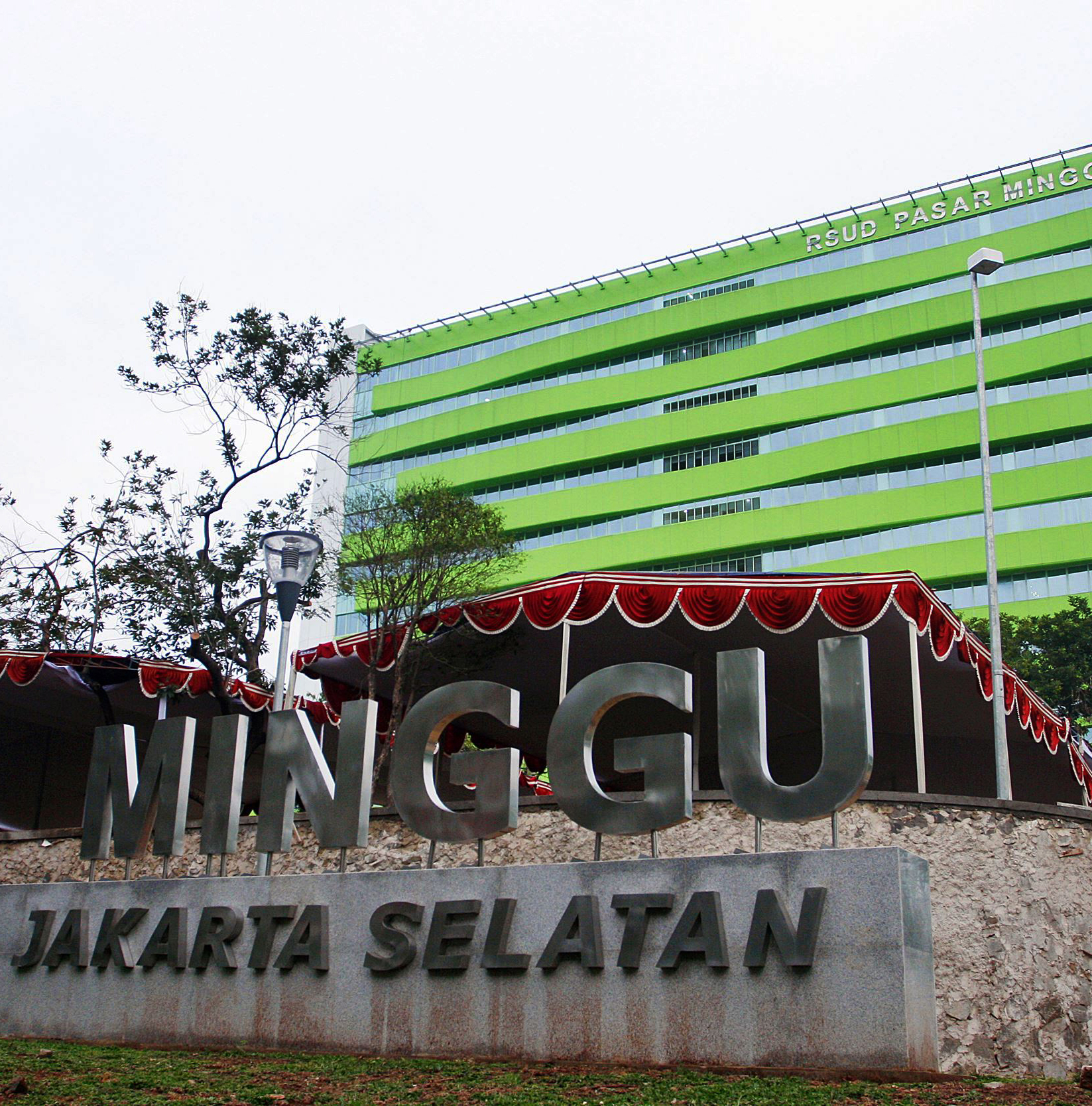 Tampilan Mewah, RSUD Pasar Minggu Dikira Hotel