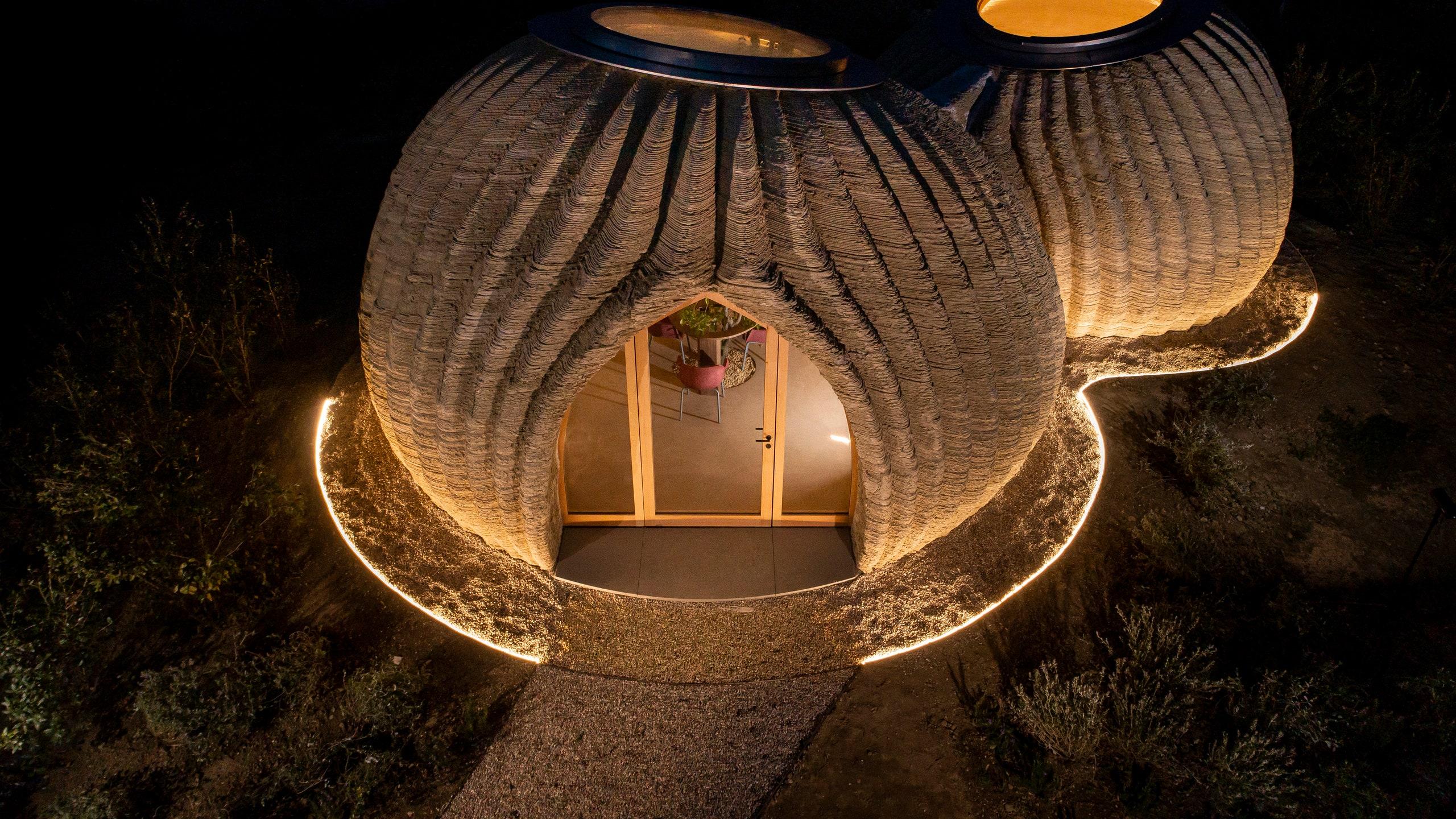 Tecla, Rumah Cetak 3D yang Dibangun 200 Jam