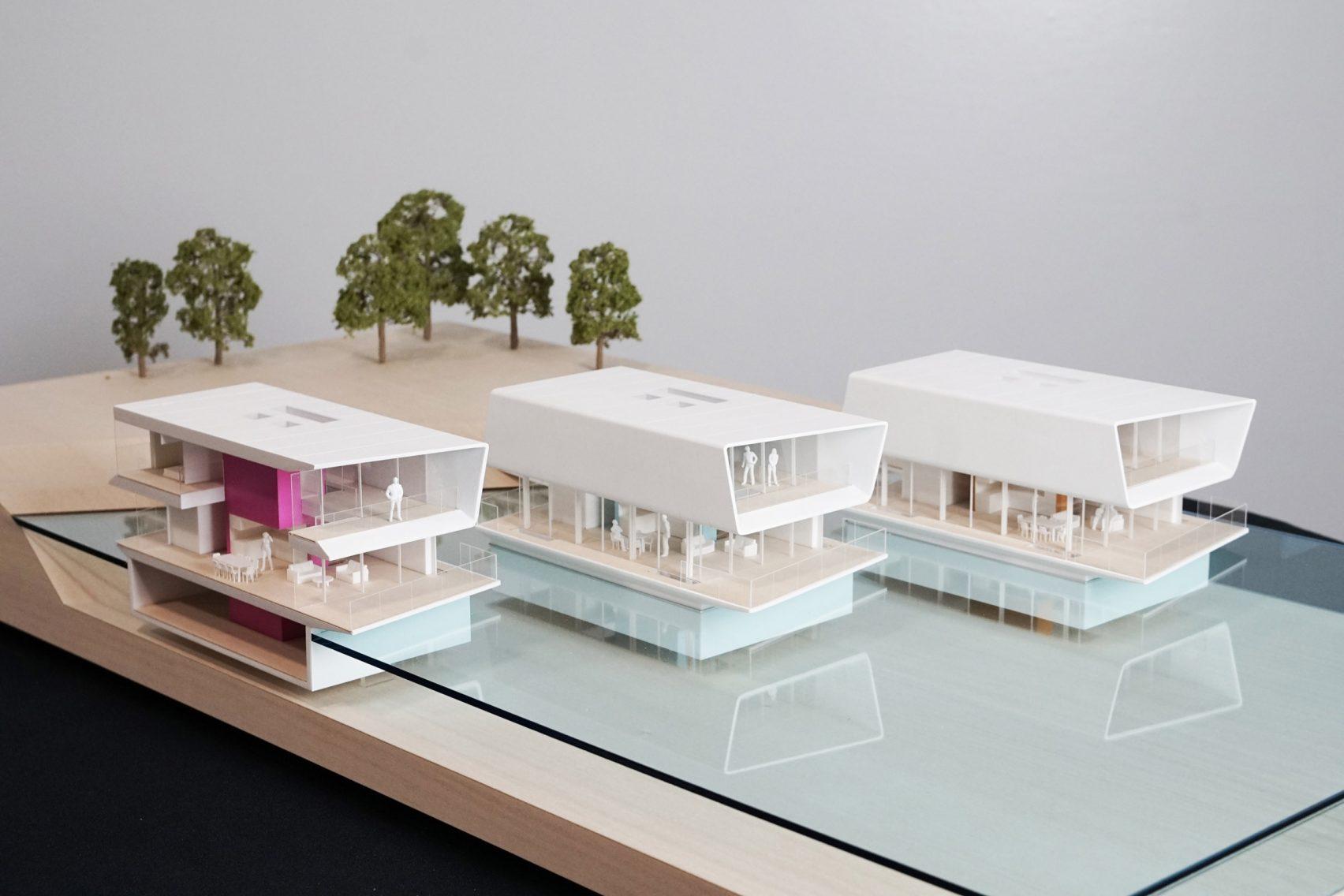 Desain Rumah Apung, Solusi Hunian Terjangkau