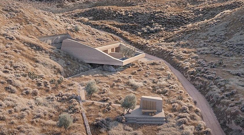 Desain Rumah 'Batu' yang Terinspirasi Alam