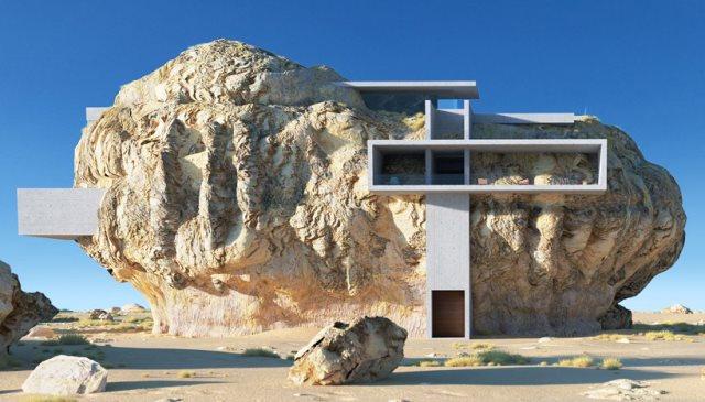 Desain Rumah Batu pada Zaman Modern