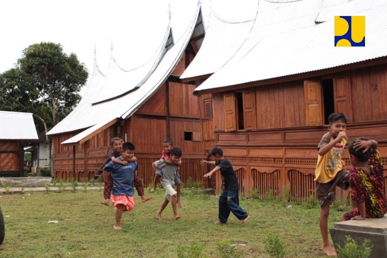 Pemerintah Rampungkan Revitalisasi Kawasan Saribu Rumah Gadang