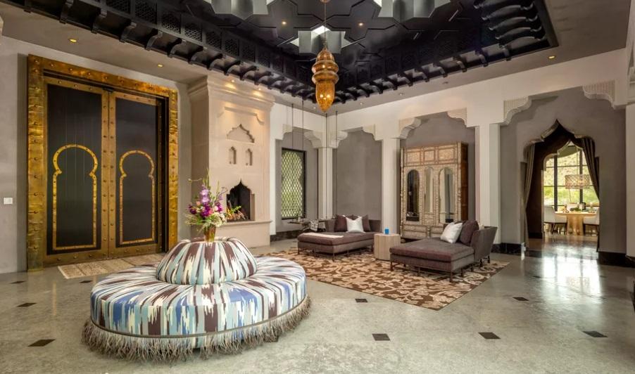 Vila Mewah dengan Konsep Maroko
