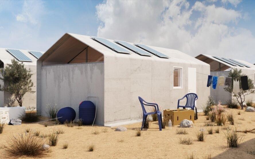 Dibangun dalam 24 Jam, Rumah Ini Cocok untuk Pengungsi