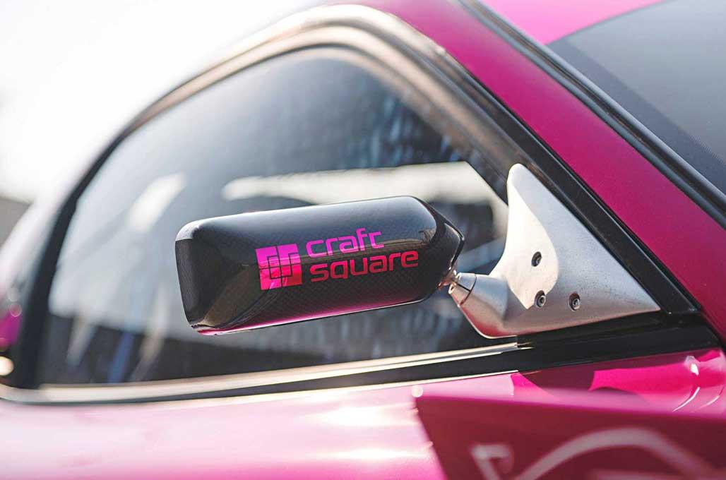 Modifikasi Mazda RX-7 Bergaya Drift Racing
