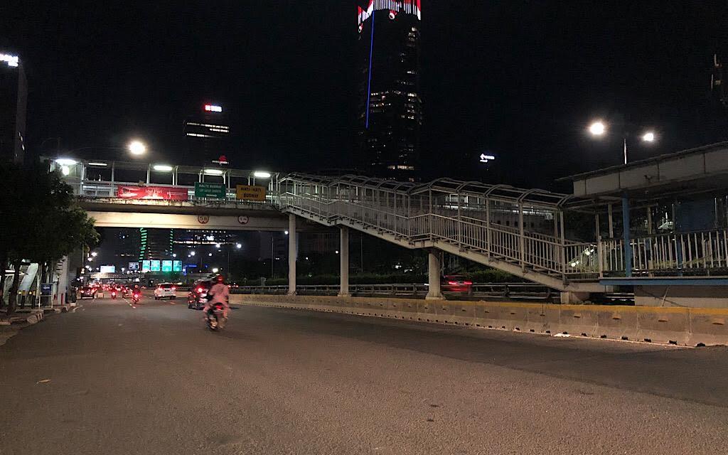 Malam Takbiran Lengang di Jakarta