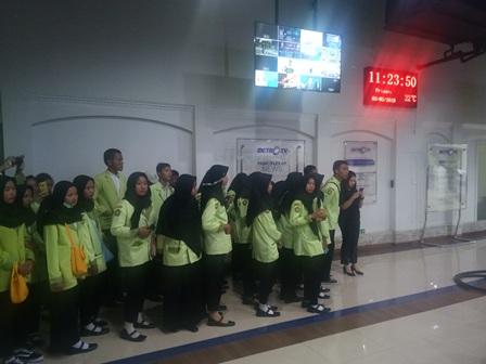 Pelajar SMKN 1 Gabuswetan Tengok 'Dapur' Metro TV