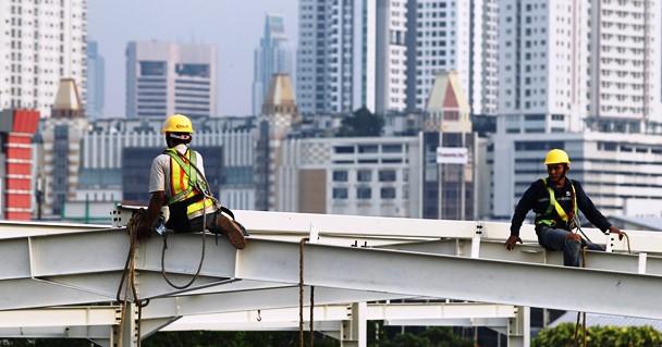 Pekerjaan <i>Skybridge</i> Tanah Abang Tuntas 15 Hari Lagi