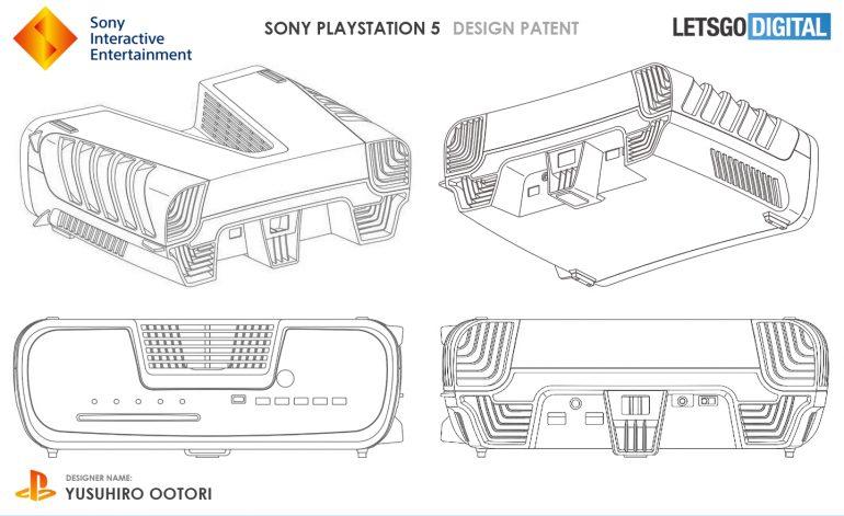 Inikah Paten Desain PlayStation 5?
