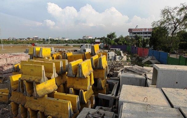 Pembangunan Markas Persija Mundur dari Jadwal