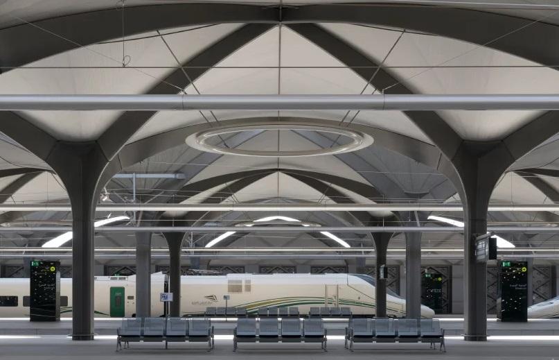 Stasiun Kereta Cepat di Arab Saudi Pertahankan Arsitektur Kuno