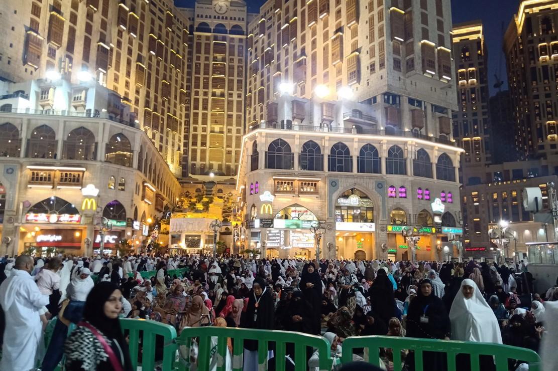 Jemaah Umrah Masih Ramai di Saudi