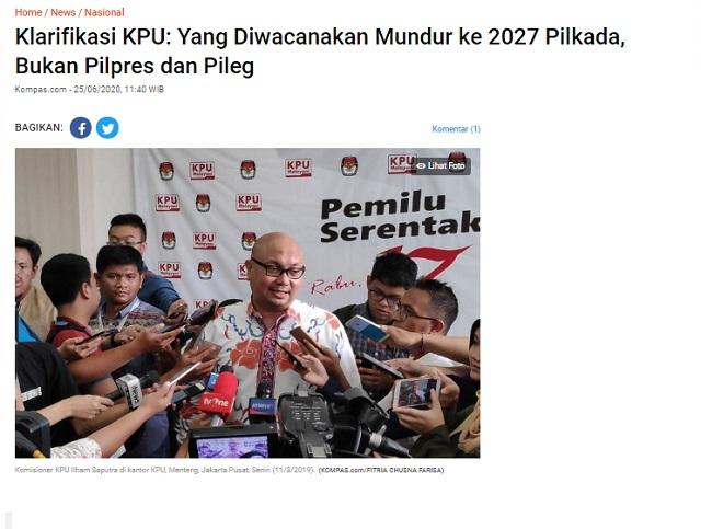 [Cek Fakta] Masa Jabatan Presiden Diperpanjang karena Pilpres Digelar 2026? Ini Faktanya